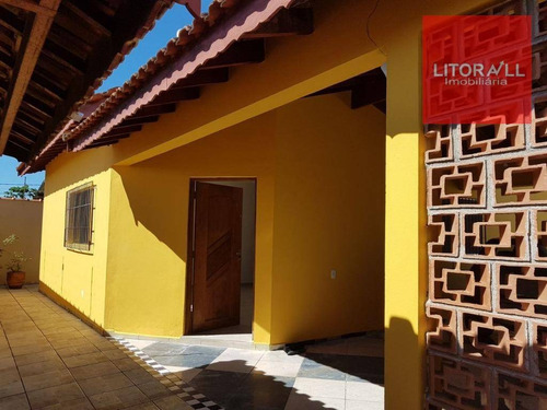 Imagem 1 de 16 de Casa Com 3 Dormitórios À Venda, 96 M² Por R$ 240.000,00 - Cibratel Ii - Itanhaém/sp - Ca1076