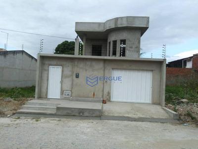 Casa À Venda Por R$ 170.000 - Cágado - Maracanaú/ce - Ca0837