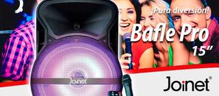 Bocina Amplificada Bluetooth Joinet De 15
