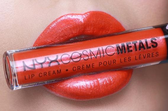 Nyx Labial Cosmic Metal Lip Cream Solar Energy