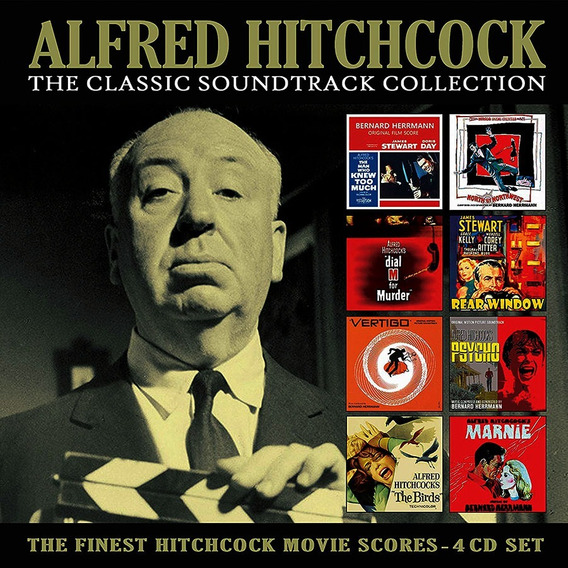 Alfred Hitchcock The Classic Soundtrack Collection Box 4 Cd