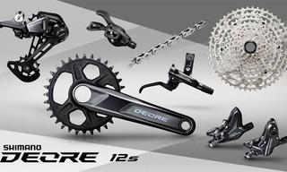 Grupo Shimano Deore 1100 12v Con Frenos - Bike Shop Bernal