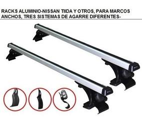 Racks Barras De Techo, En Aluminio, Ajustables, Universal