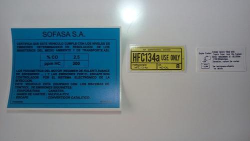 Toyota Prado Sumó Calcomanías