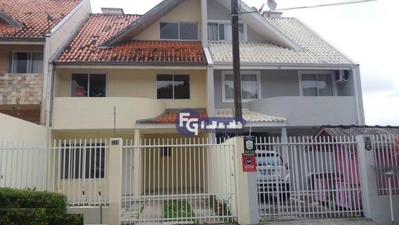 Sobrado Com 3 Dormitórios À Venda, 149 M² Por R$ 349.000,00 - Aristocrata - São José Dos Pinhais/pr - So0014