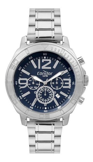 Relógio Condor Civic Masculino Prata Cojp25ab/t3a