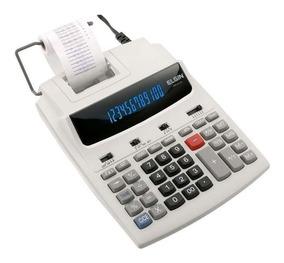 Calculadora De Mesa Com Bobina 12 Dígitos Mr-6124 Elgin