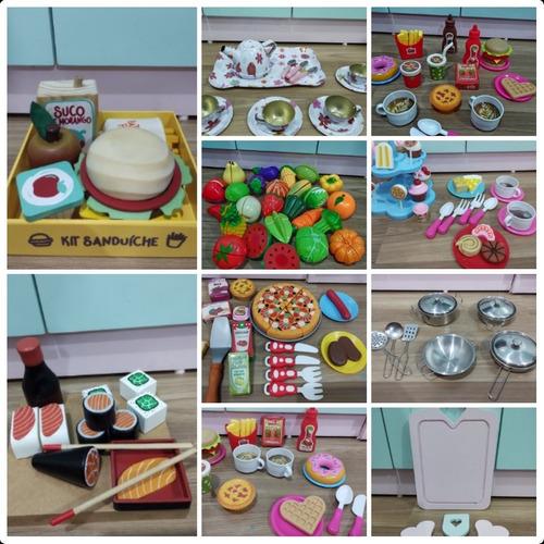 Imagem 1 de 4 de Cozinha Em Mdf Com Conjunto De Mesa E 4 Cadeiras E Kit