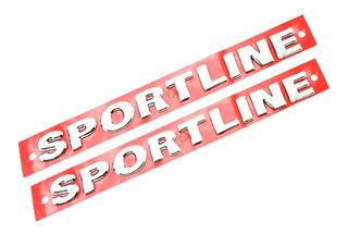 Emblemas Laterais Sportline - Polo Hatch - 2007 À 2014