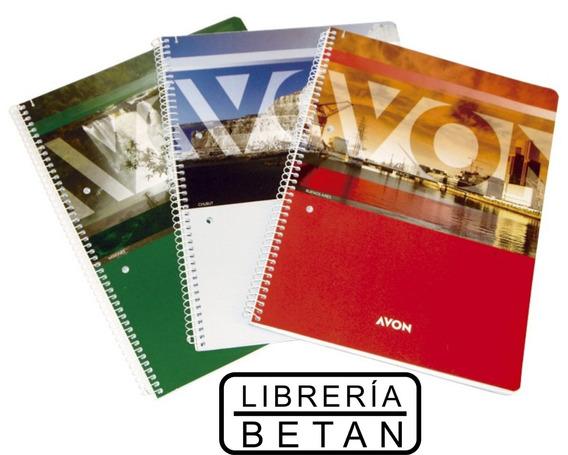 Cuaderno Avon Universitario (21 X 29,7 Cm) X 84 Hojas