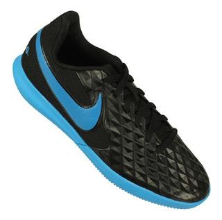 Chuteira Futsal Nike Tiempo Legend 8 Juvenil Nfe Tênis Preto