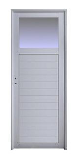 Puerta Aluminio 70x200 1/4 Vidrio M208 Outlet Abershop Der
