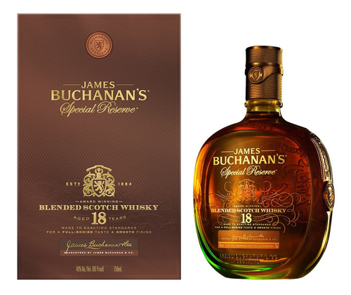 Whisky Buchanan's Special Reserve 18 Años 750ml
