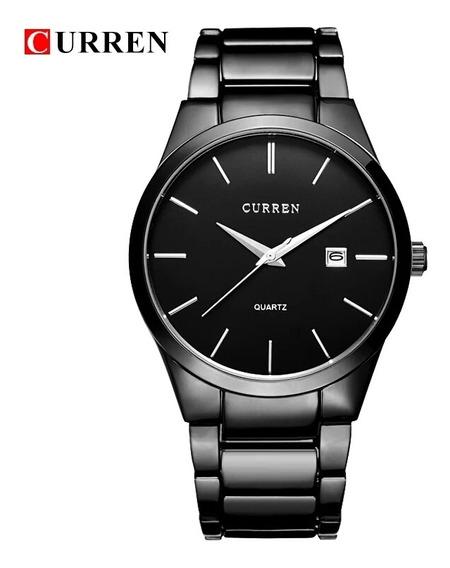 Relógio Masculino E Feminino Curren Importado Original 8106