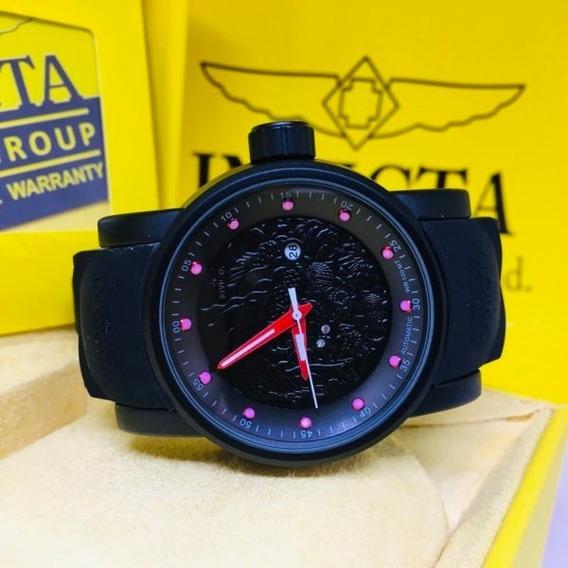 Relógio Invicta Yakusa S1 Todo Preto