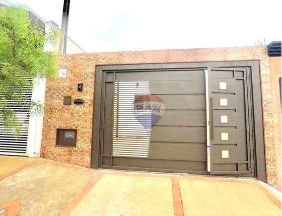 Casa Com 2 Dormitórios À Venda, 72 M² Por R$ 190.000 - Residencial Ouro Verde - Botucatu/sp - Ca0724