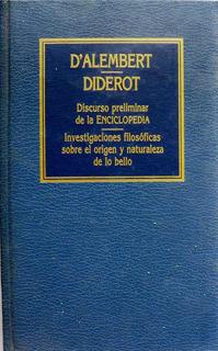 Dalembert Diderot Discurso Preliminar Naturaleza De Lo Bello