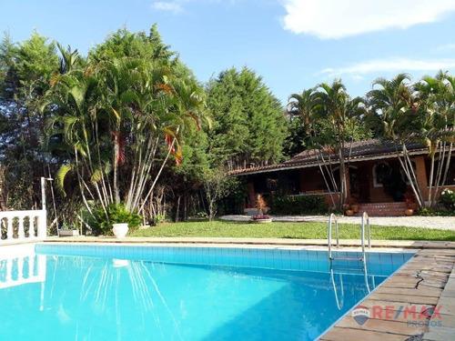 Chácara Com 4 Dormitórios À Venda, 5000 M² Por R$ 1.300.000,00 - Recanto Das Flores - Indaiatuba/sp - Ch0024