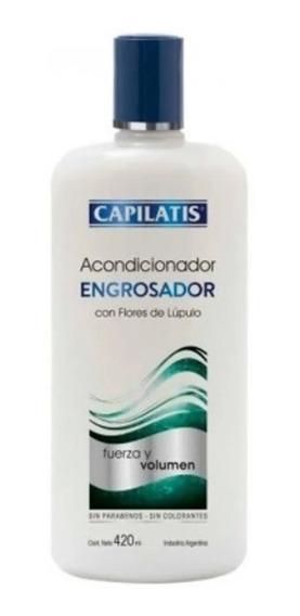 Acondicionador Capilatis Engrosador Cabellos Finos 420 Ml