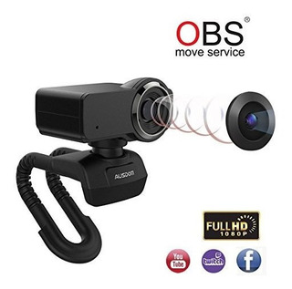 Ausdom Full Hd 1080p Webcam, Obs Webcam En Vivo, Camara De C