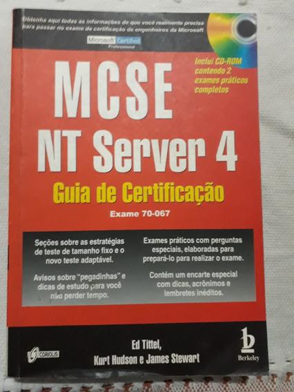 Guia De Certificação Mcse Nt Server 4 Exame 70-067