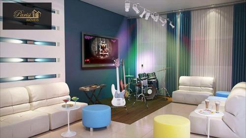 Imagem 1 de 21 de Apartamento Com 3 Dorms, Canto Do Forte, Praia Grande - R$ 646.638,00, 109,29m² - Codigo: 215 - V215