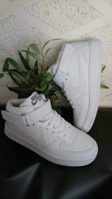 Zapatillas Hombre Blanca Con Caña Envio Gratis