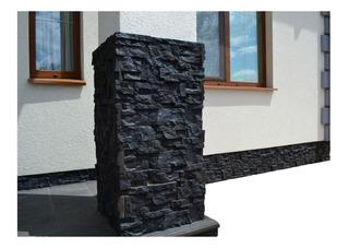 5 Moldes Fachaleta Pared Piedra De Fachada En Yeso Cemento