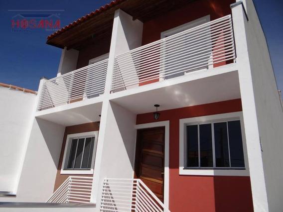 Sobrado Com 2 Dormitórios À Venda Por R$ 215.000 - Residencial Santo Antônio - Franco Da Rocha/sp - So0818