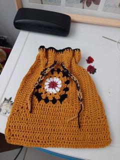 Bolsa Reutilible A Crochet Hecha A Mano