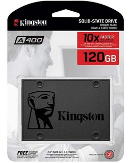 Disco Duro Solido Ssd A400 120gb Kingston 2.5 7mm Nuevo