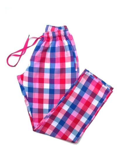 Pantalones Para Niños A Cuadros Prim Verano Talles De 2 - 16