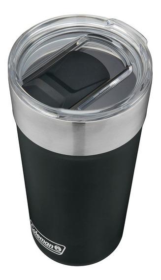 Vaso Térmico Coleman Acero Inox. Brew 600ml. Black Sand