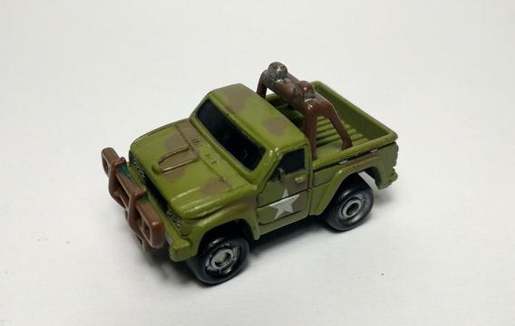 Funrise Pick Up Militar Miniatura Tipo Micro Machines Galoob