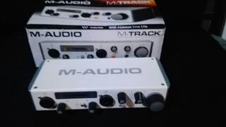 Placa Audio Interfaz Usb