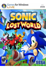 Sonic Lost World Pc Completo Com Mais Um Jogo!