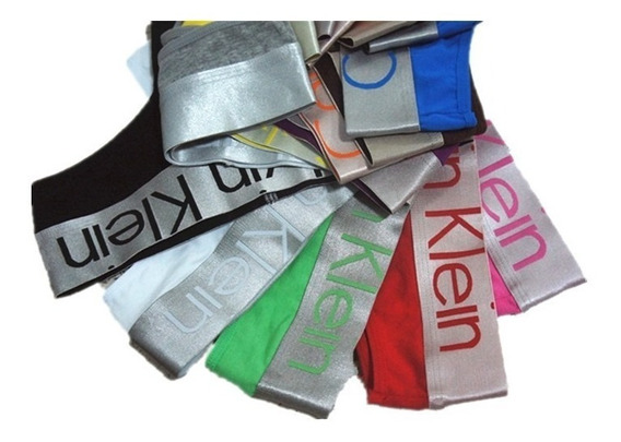 Calvin Klein Thong Less Panty Bombacha Talle S Y M Con Pouch