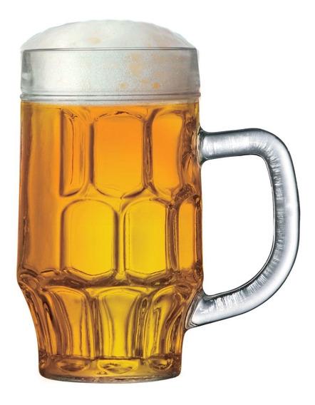 Caneca De Chopp Cerveja Copo Cerveja Vidro 500ml