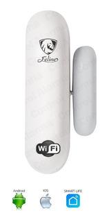 Alarma Wifi Alexa Google Seguridad Magnetico Puerta Ventana Apertura Inteligente Smart Home Sensor Control App Alerta