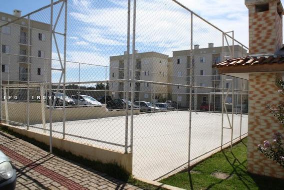 Apartamento Para Venda Em Ponta Grossa, Uvaranas, 3 Dormitórios, 1 Banheiro, 1 Vaga - Campoaleg_1-860063