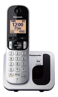 Telefone sem fio Panasonic KX-TGC212LB1 prateado