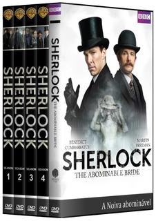 Sherlock - 1° A 4° Temporada + Filme Em Dvd