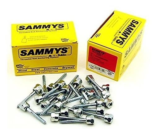 (25) Sammys 3 / 8-16 X 2 Varilla Roscada Percha Para La Made