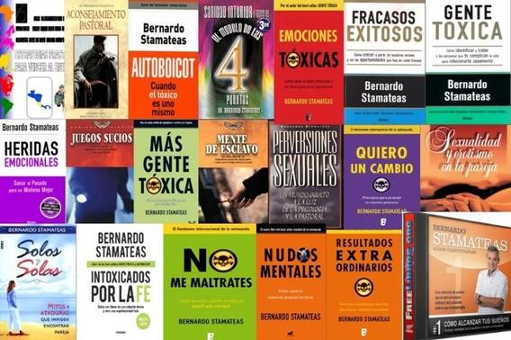 Coleccion Bernardo Stamateas 25 Libros 1 Audiolibro