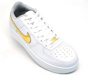 Tênis Nike Air Force 1 Couro Promoção