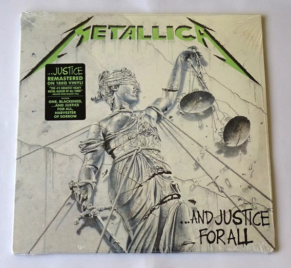 Lp Duplo Metallica - And Justice For All 180g (2018) Novo