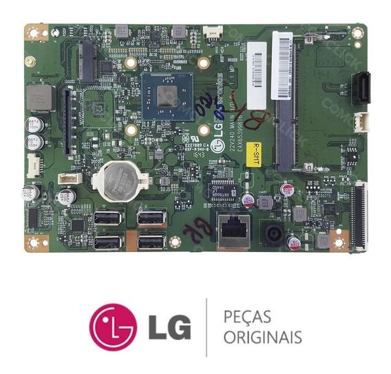 Placa Mãe All In One 22v240-l Com Processador Quad Core