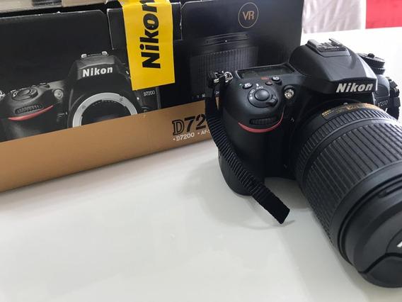 Câmera Nikon Dslr D7200 - Kit Com Lente 18-140mm