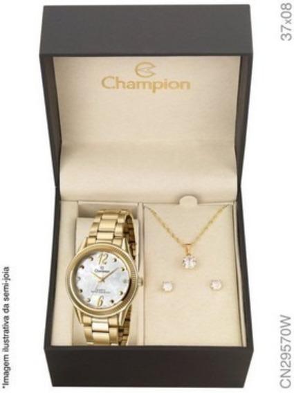 Relógio Champion Feminino Cn29570w Relógio Feminino