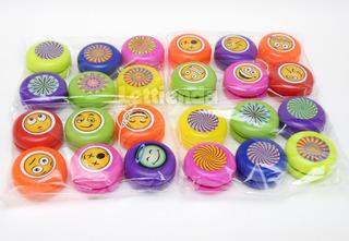 Yoyo Plástico Ideal Souvenirs Y Personalizar Cumpleaños X 25